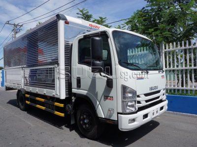 Xe Tải ISUZU NPR400 Thùng Kín Mở Bửng Hông Tải 3T4